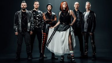 "Photo of WITHIN TEMPTATION s novým singlom ""Entertain You""."